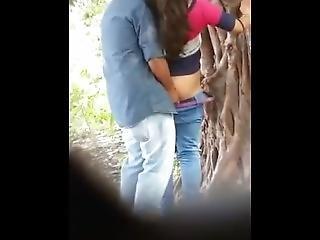 Indian Girlfriend Boyfriend Doing Sex In Hide Place