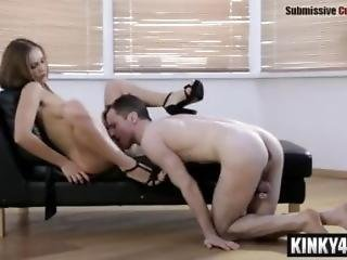 Hairy Submissive Cuckold Femdom Humiliation Russian Mistress