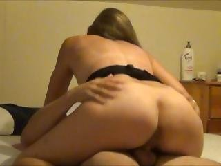 Amateur, Brunette, On Top, Wife