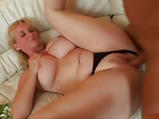 Busty Blonde Hungarian Milf Monik Monika Fuck At A Sofa