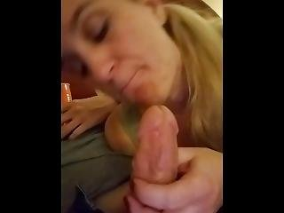 Older Milf Gives Younger Guy Head
