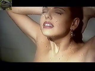 gros téton, blonde, brésilienne, sexy, embêter