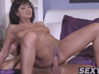 Dazzling Babe Tera Joy Smashed Doggy Style By Her Kinky Hunk