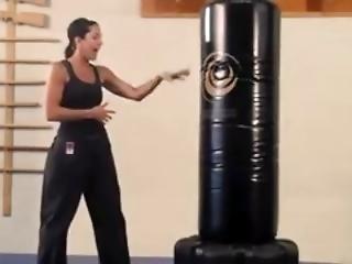 Karate Bag Work