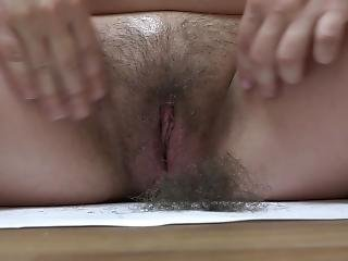 Shaving A Very Hairy Cunt, Pregnant Skinny Milf