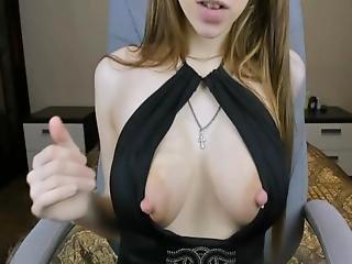Brunette Big Milky Tits Boobs Fingering Pussy Massive Tits