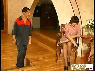 Mature Older Woman With Younger Lover 08