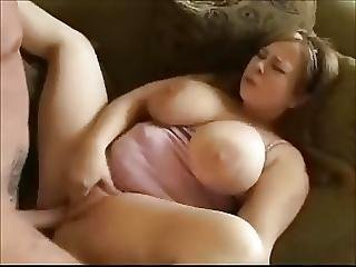Nympho Fat Bbw Teen With Big Tits Fucked On The Couch