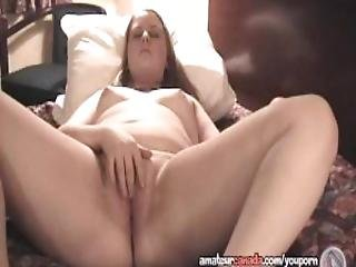 Chubby Teen Geek Films Her Wet Pussy Being Masturbated