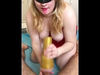 Vday2018. Sensual Bj And Fucking With Fleshlight