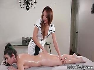 Lesbian Massage Sex With Serena Blair And Ayumi Anime