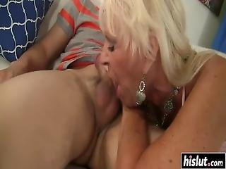 Lucky Guy Gets To Bang Naughty Mandi Mcgraw While Her Boobs Bounce