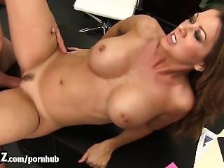 Wankz - Horny Milf Boss Gets Fucked On Her Desk!