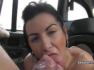 Horny Milf Anal Fucked In Cab