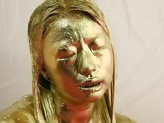 Japanese Gold Paint 1