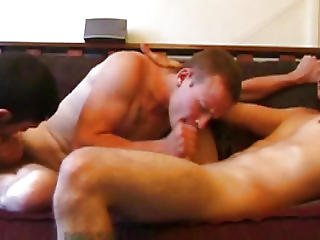 Straight Amateur Twinks Get Gay Together