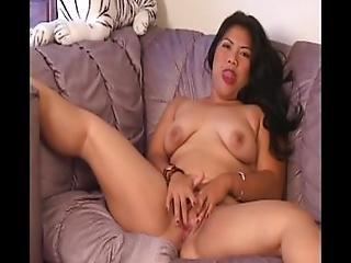 Big Bubble Butt Asian Barebackin Pov 1   Scene 1