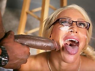 Busty Cougar Alexis Diamonds Gets Bbc Anal