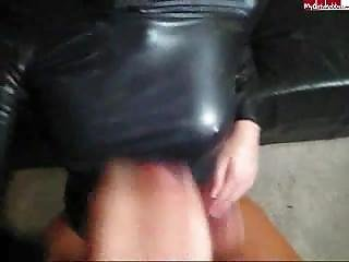 Cara Cum Latex Blowjob