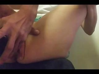 Horny Amateur Couple Finger And Bottle Fuck.