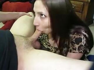 Facial For His Horny Wife