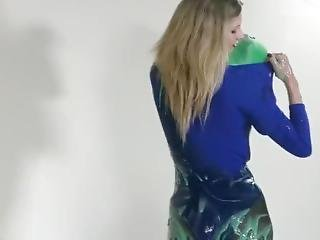 Supergirl Covered In Slime