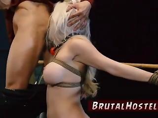 Interracial Sex Slave Bondage Big-breasted