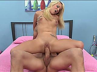 Huge Dick For Blonde Babe Tegan Summers