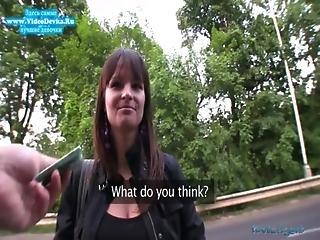 Publicagent - Rita Argiles Bounces Her Boobs On Cock