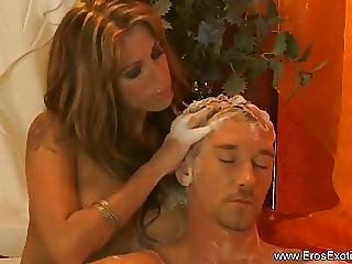 Turkish Blonde Milf Massage