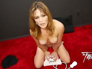 Sexy Milf Kate Takes A Ride On The Tremor For Blowbanggirls