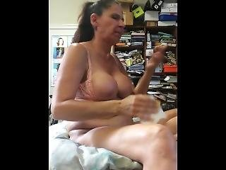My White Deaf Busty Secretary Fucks And Sucks To Keep Her Job