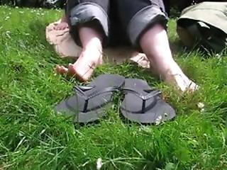 Outside Flip Flops
