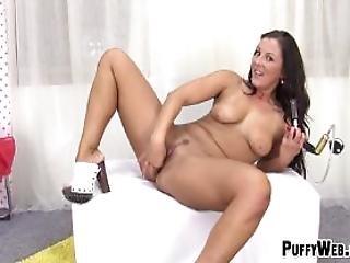 anal, cú, foder o cú, morena, europeia, foder, masturbação, inchado, cona, pussypump, sexo, agarrar, só, Adolescentes, brinquedos