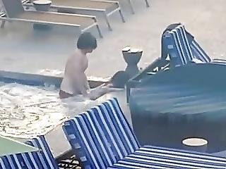 Public Sex Hotel Pool
