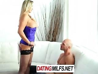 Hd Datingmilfs - Busty Milf Abbey Brooks Licks Ice Cream And Tastes Cock