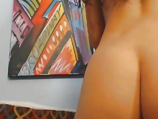 Amateur, Bonasse, Poitrine Généreuse, Mignonne, Gode, Masturbation, Orgasme, Rose, Belle, Chatte, Sexy, Sexe, Rasée, étroite, Chatte étroite, Webcam