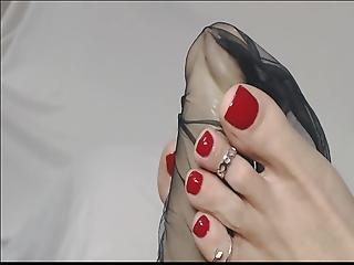 Leszbikus lábujj szex