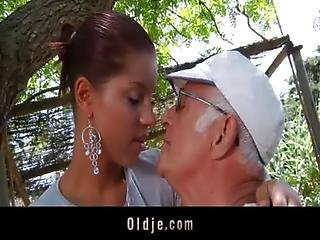 Anal, Cowgirl, Dick, Exgf, Fucking, Grandpa, Old, Sexy, Sex, Teen, Young