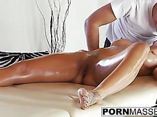 Boob, Dick, Fucking, Horny, Hugecock, Massage, Pussy, Towel, White