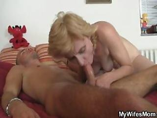 She Rides Daughters Bf Cock And Gets Busted