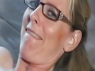 Delicious German Blonde Milf In Stockings Wants To Fuck