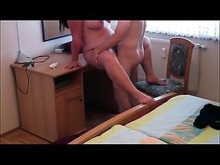 Amatør, Bbw, Par, Hjemme, Hjemmelaget, Ridning, Sex, Kone