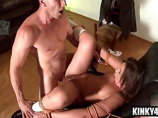 Small Tits Pornstar Bondage And Cum In Mouth