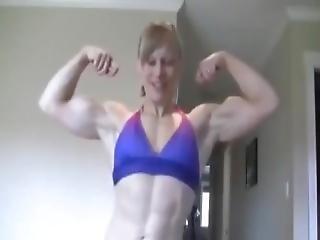 Muscle Webcam Blond