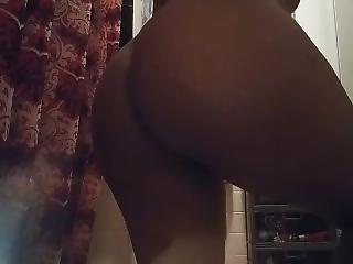 Twerking Before Shower