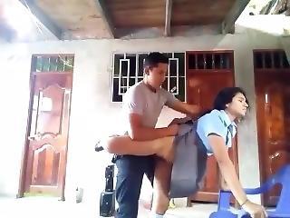 Policía Follando Colegiala