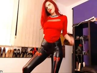 Leather Latex Ass Perfect Tease