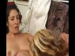 Redhead Cherry And Older Woman Toy