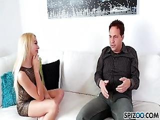 Spizoo - Watch Mr Eric John Eat Zoe Clarks Sweet Tiny Tight Pussy